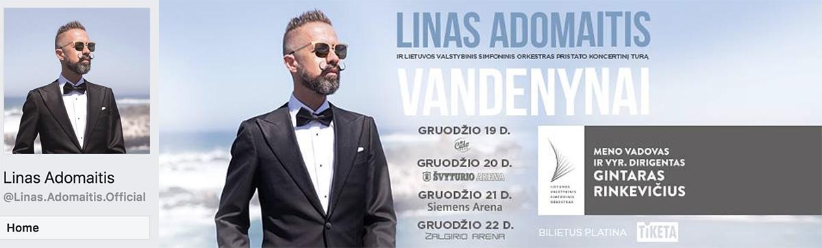 Linas Adomaitis Facebook viršelis