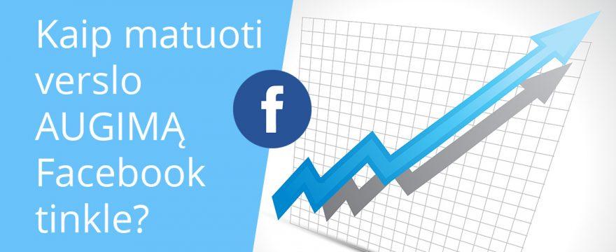 Facebook augimas