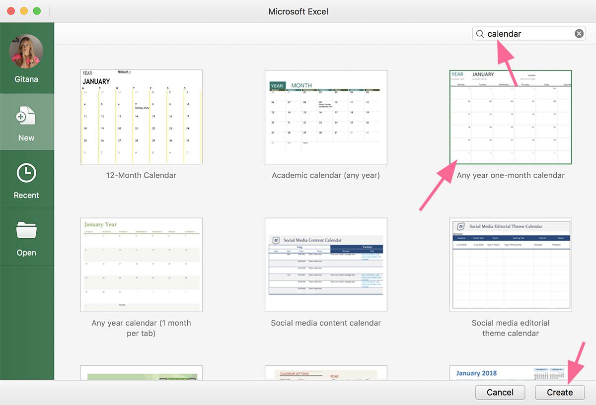 Socialinių tinklų kalendorius, norint kurti Facebook planą