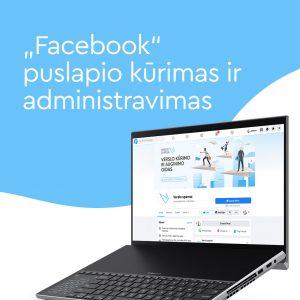 Facebook puslapio kūrimas ir administravimas